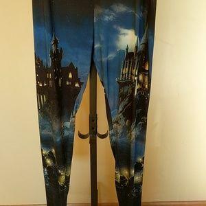 Harry Potter Hogwarts leggings from Hot Topic
